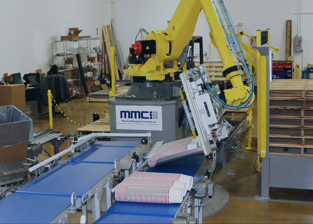 Roboticizing Frozen Food Palletizing