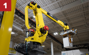 Robotic Arm, robotic palletizer, robotic palletization, robotic palletizing system, robotic palletizers, robotic palletizing arm, palletizier, automatic palletizer, palletization