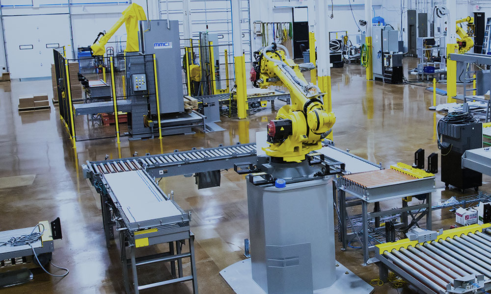 robotic palletizer, robotic palletizers, robotic palletizing, robotic palletizer company, robotic palletizer supplier