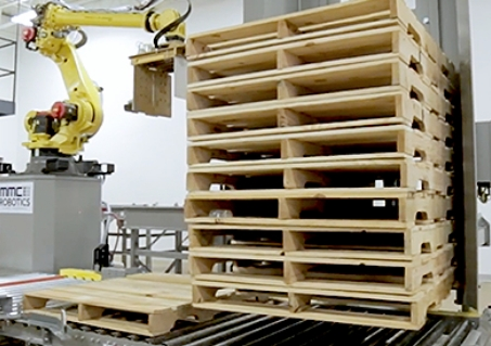 Dispensing Systems, robotic palletizer, robotic palletization, robotic palletizing system, robotic palletizers, robotic palletizing arm, palletizier, automatic palletizer, palletization