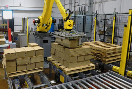 Robotic vs Conventional, robotic palletizer, robotic palletization, robotic palletizing system, robotic palletizers, robotic palletizing arm, palletizier, automatic palletizer, palletization