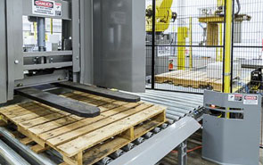 Flexible Design with Automatic Pallet Dispensers