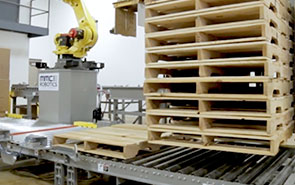 Better Reliability with Automatic Pallet Dispensers