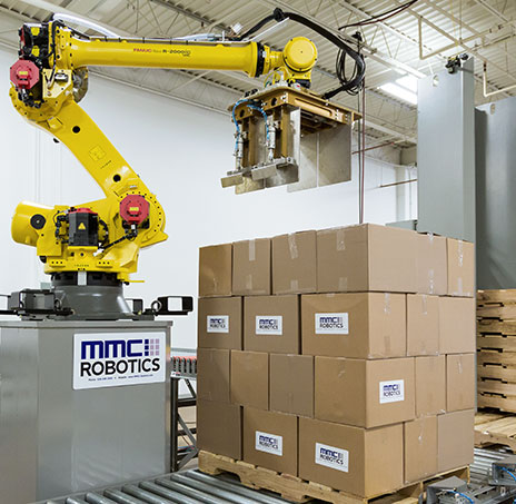 Palletizing Robot - MMCI Robotics